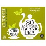 Clipper Organic 80 Tea Bags 250g